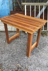Cypress Rough Sawn Side Table 25x30x20