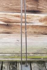 "32"" Hair Pin Table Leg Raw Steel"