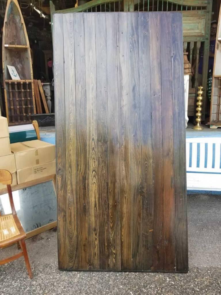 """Reclaimed Cypress Barn Door 84"""" X 42"""""""