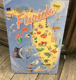 Coudal State of Florida Print