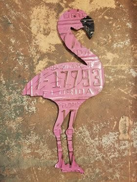 Wall Hanging Flamingo