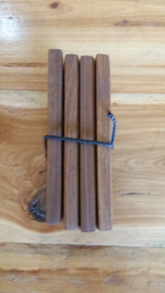 Walnut Coaster Set of 4