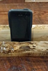 Live Edge Tablet Holder