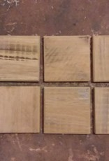 Reclaimed Cypress Coasters set