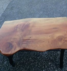 Deodar Cedar Live Edge Industrial Base