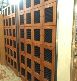24 Door Wood Locker