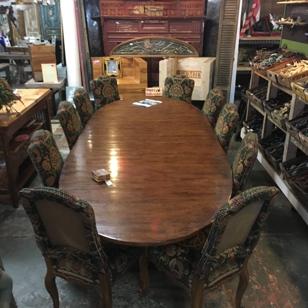 "11'x52"" Oval Conference Table"