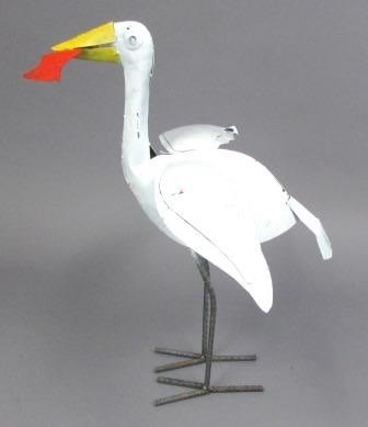 Crane with Fish