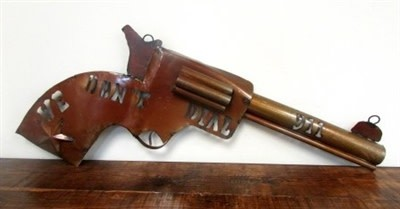 """Small Revolver """"We Don't Dial 911"""""""