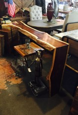 Rosewood Console Table w/ Waterfall Leg