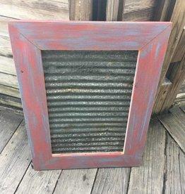 31x23 Framed Corrugated Metal Panel