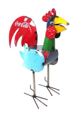 "26"" Coca Cola Rooster"
