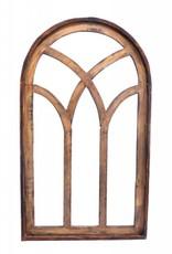 """Lg Siena Wood Window  49""""H x 28.5""""L x 1""""W"""
