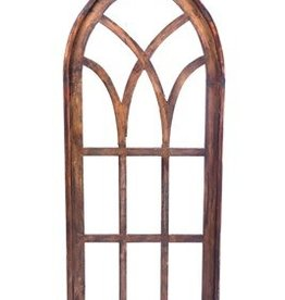 "Genoa Wood Window  60""H x 25""L x 1.5""W"