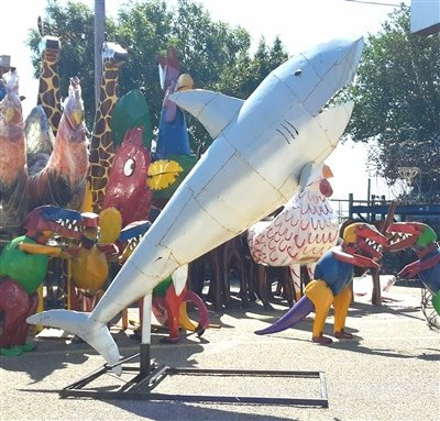 Oversize Tin Shark