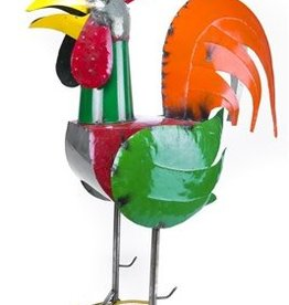 """48"""" Tin Rooster"""