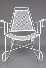 Classic White Rocking Chair 36x28x36