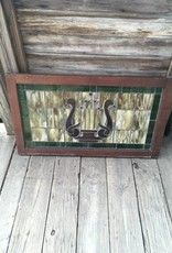 40.5x23.5 Framed Stained Glass