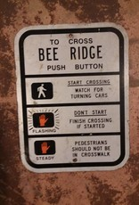 Bee Ridge Cross Walk Sign