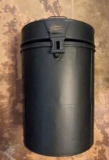 Black Can With Lid