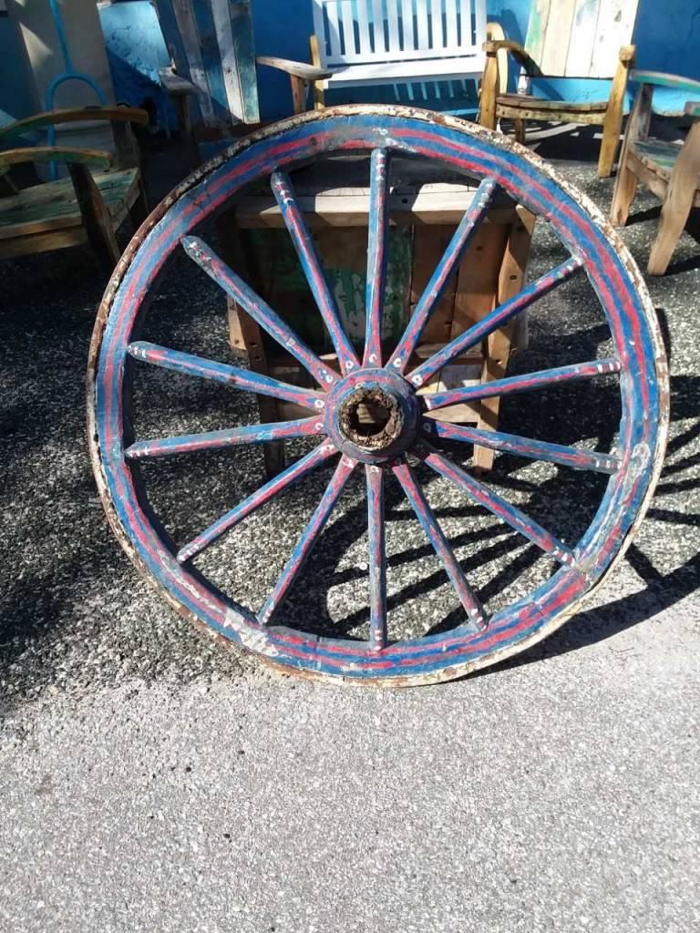 19Th Century Egyptian Wagon Wheel