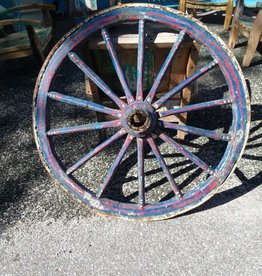 19Th Century Egyptian Wagon Wheel