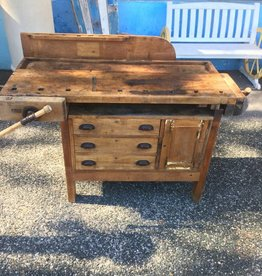 Small Wooden Work Bench