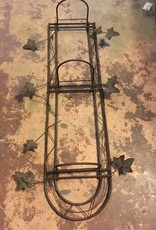 Iron Leaf Wall Rack