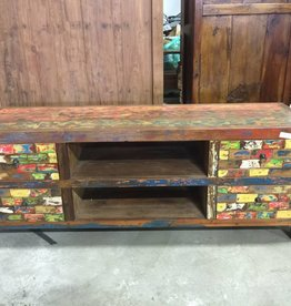 Mosaic Reclaimed Console