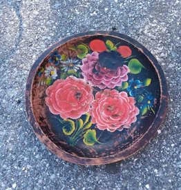 Wooden Flower Bowl