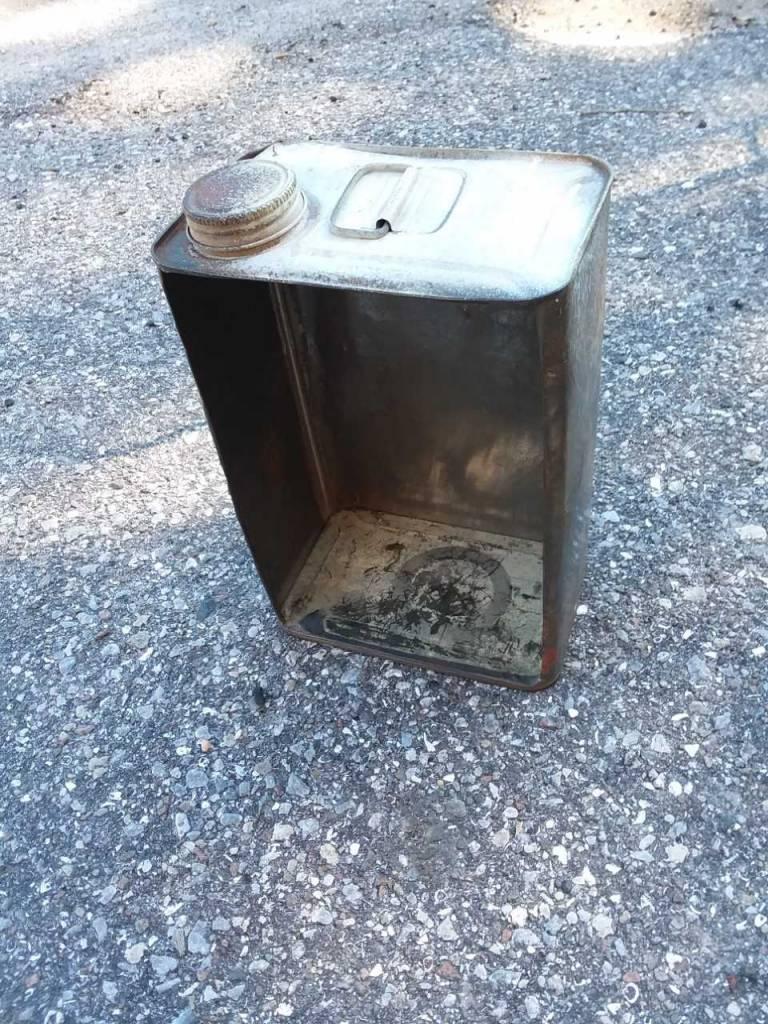 Gas Can Shadow Box