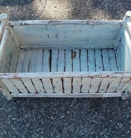 White Bamboo Crate