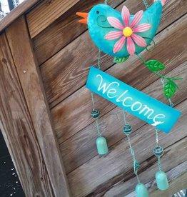 Welcome Bird W/ Bells