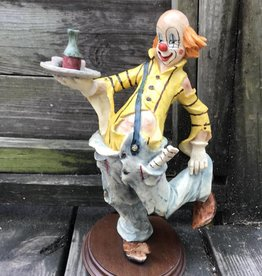 Resin Clown Figure Holding Tray