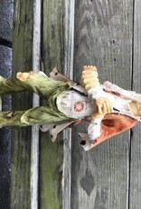 Resin Clown With Accordian Figure