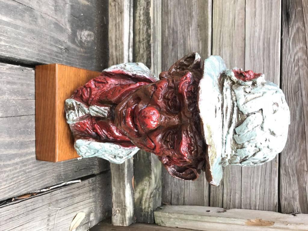 Hobo Head Sculpture