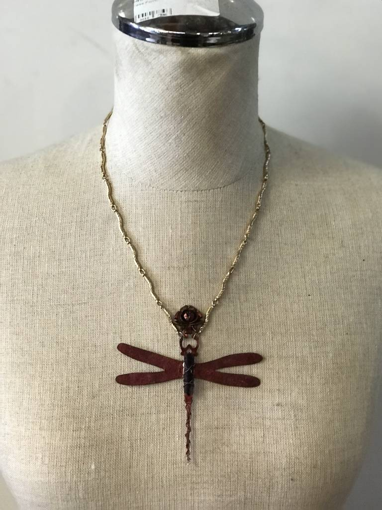 Dragon Fly Steam Punk Necklace