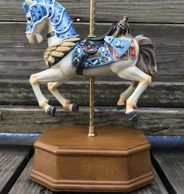 Blue Magnificent Musical Carousel 1-405