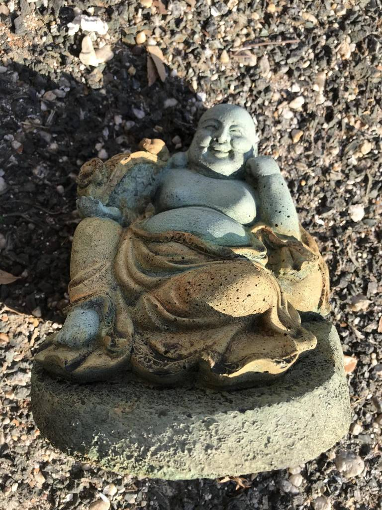 Small Seated Laughing Buddha