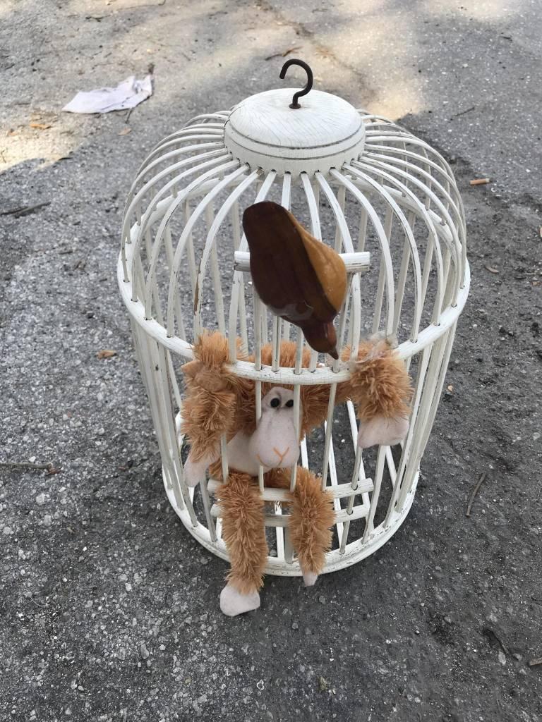 Wicker Bird Cage