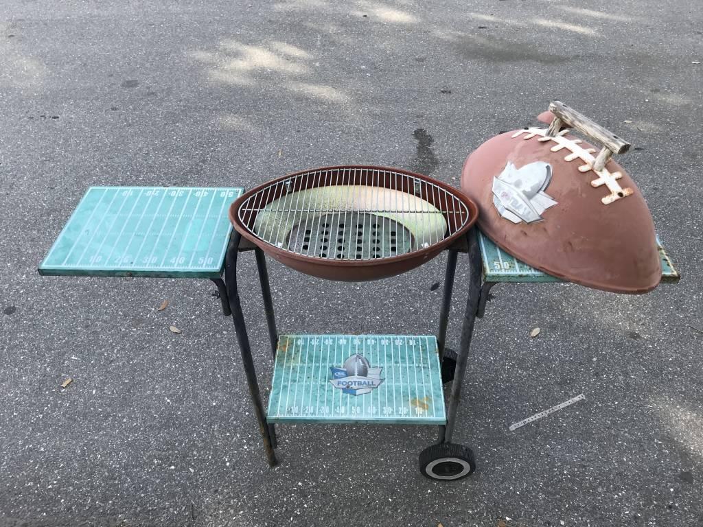 Football BBQ Grill