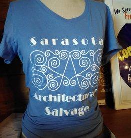 Blue SaS T-Shirt Lg