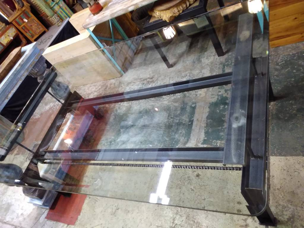 Industrial Dining Table 78L x 48W x 29.5