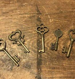 Heart Skeleton Key