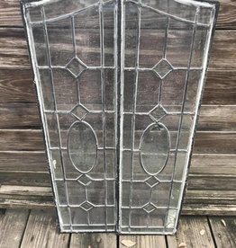 Leaded Glass Set
