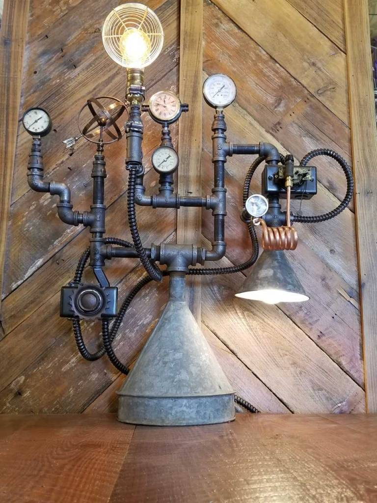 McGee Steampunk Desk Lamp