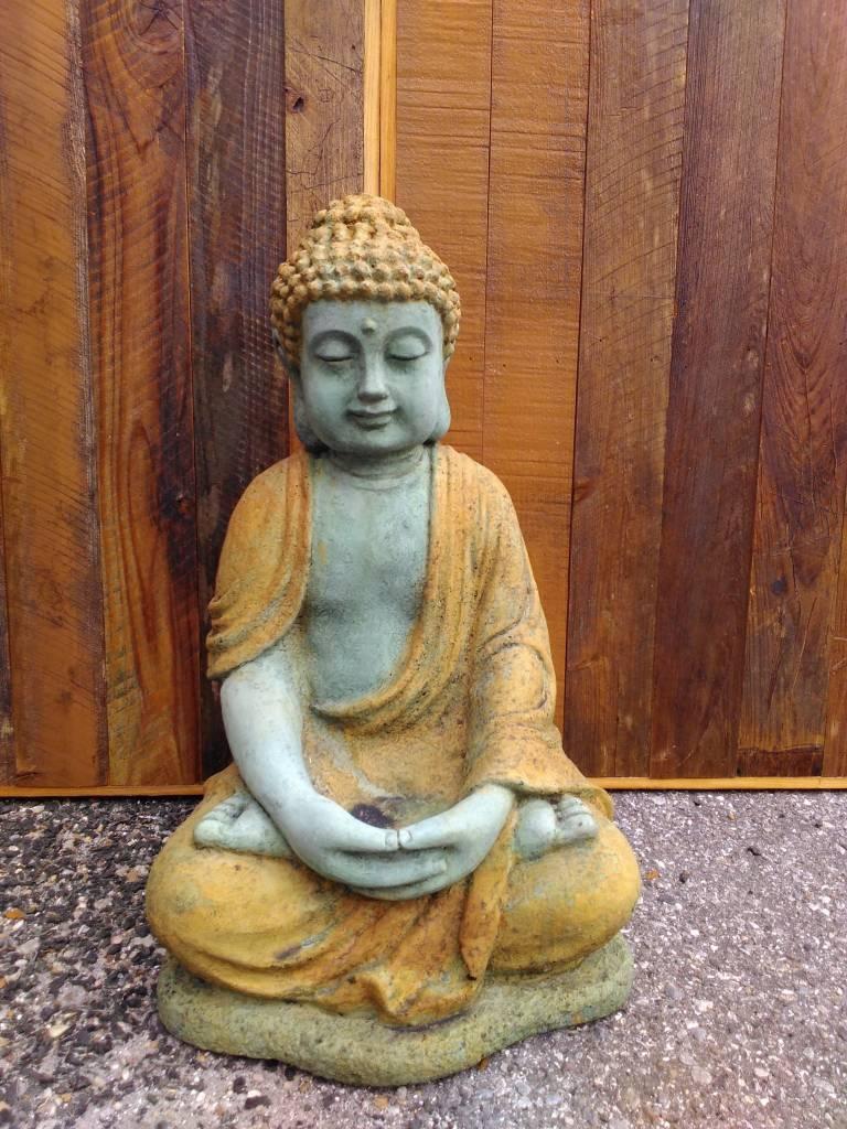 Buddha Sitting & Meditating
