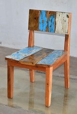 Teak Vertical Dining Slat Chair