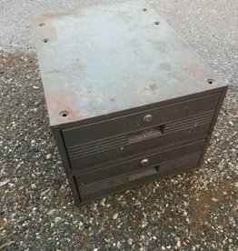 2 Drawer Industrial Cabinet