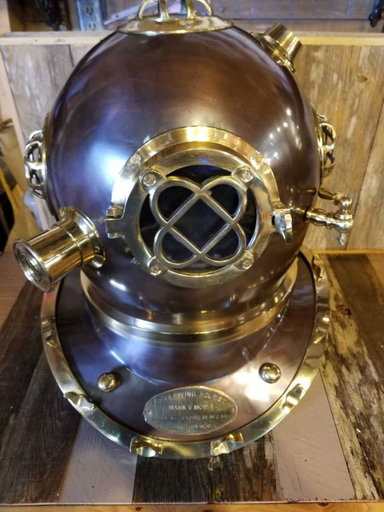 Lg Navy Divers Helmet